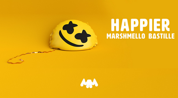 download Marshmello & Bastille Happier