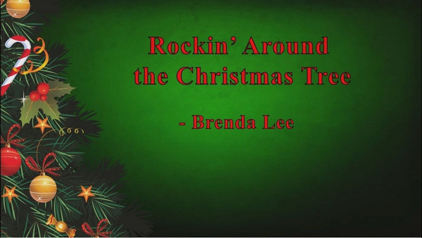 brenda lee rockin around the christmas tree